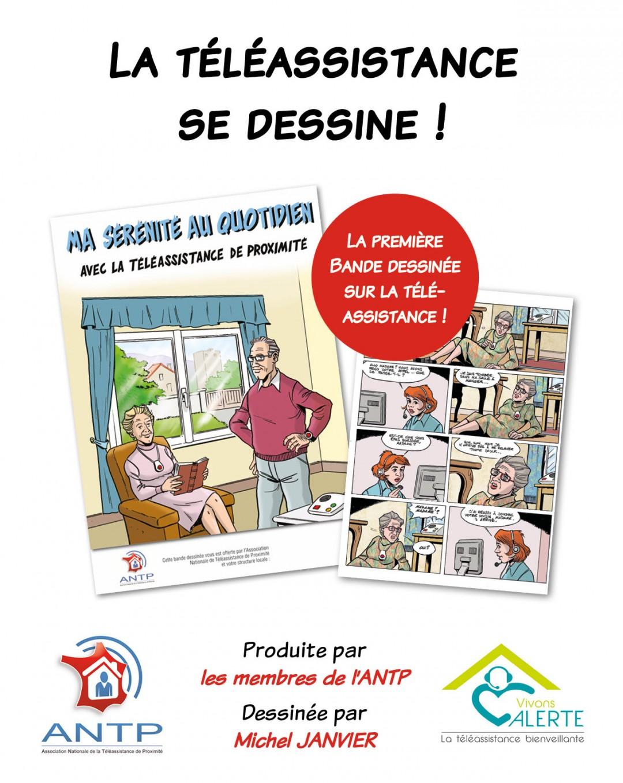 Affiche BD Téléassistance ANTP