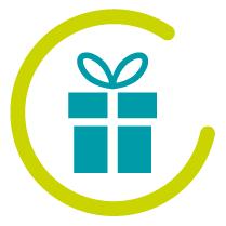 pictogramme paquet cadeaux