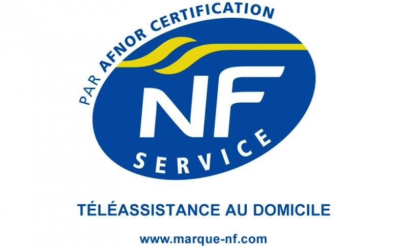 logo de la certification NF Service