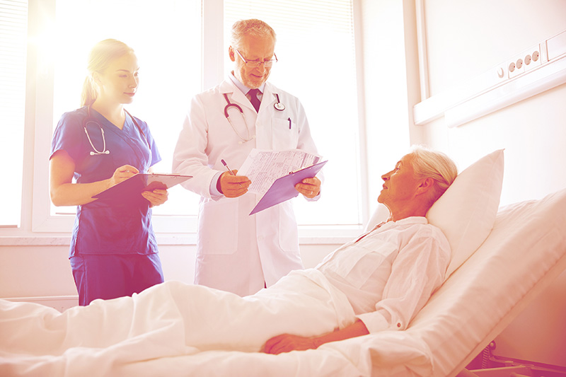 hospitalisation senior